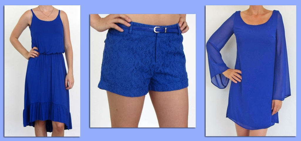 2tee Couture blue dresses and shorts