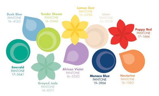 Spring 2013 Trends Pantone Color Trends