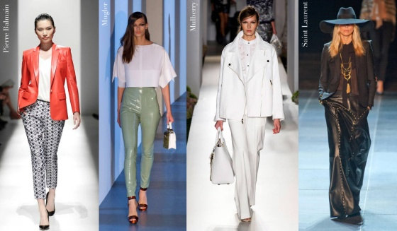 Spring 2013 Trends: Leather